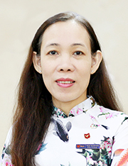 Mrs. Tran, Thi My Dieu Member, Board of Trustees President Head, Department of Testing and Quality Assurance