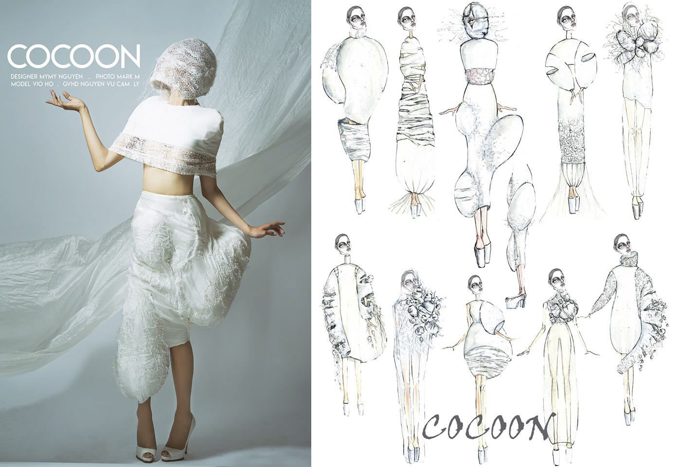 Meet Art Project Art Fashion Design Project Extremely Fantastic Of Van Lang Students