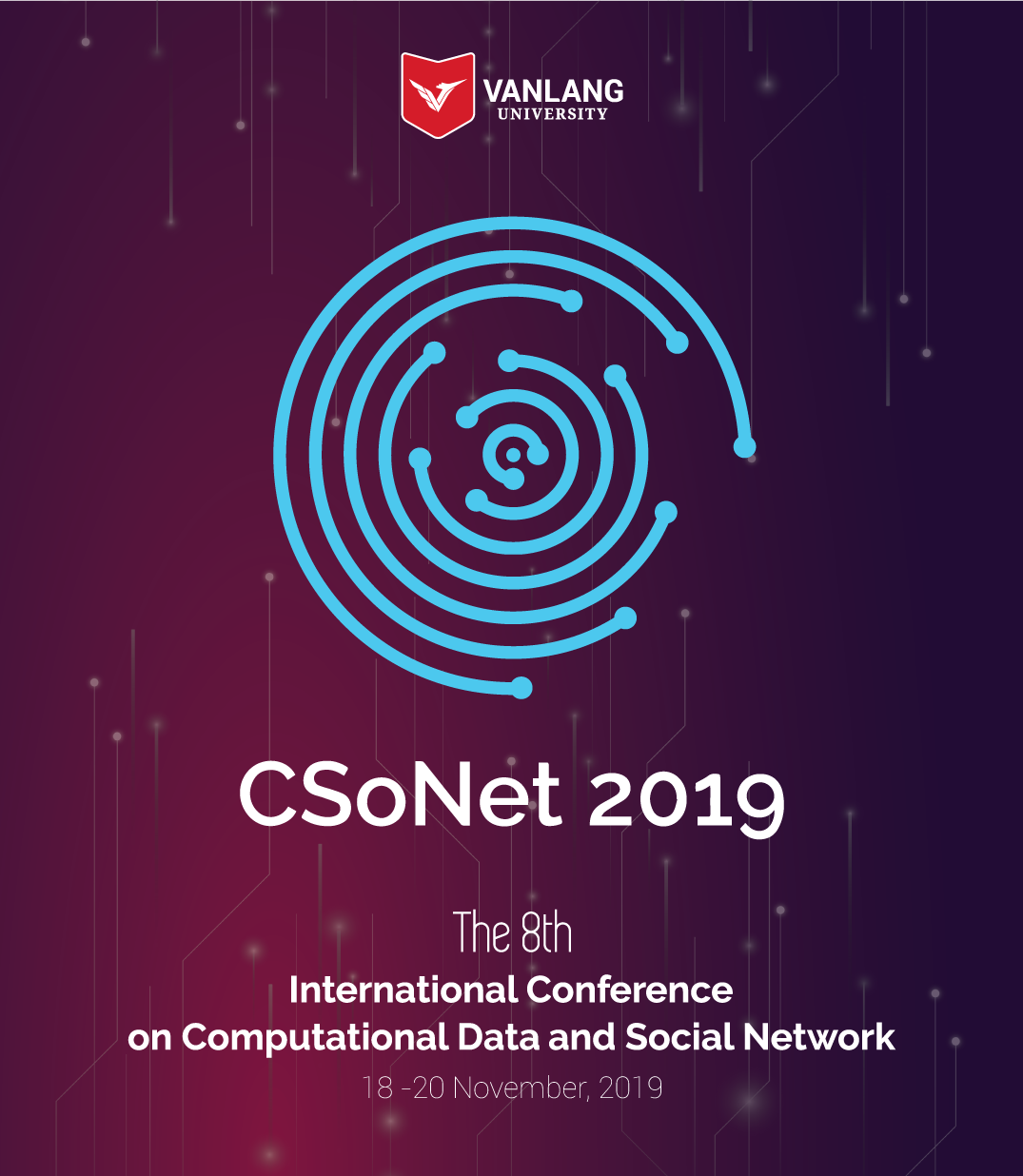 vlu 8th CsoNet 2019 at vanlanguni logo