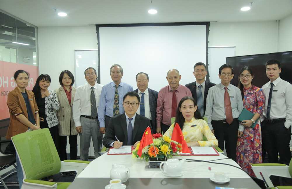 vlu mou with Guangxi Uni of Science and Technology c
